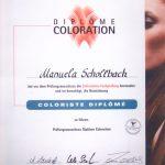 Friseur Diplome Colorist